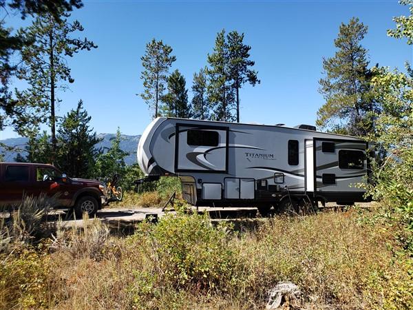 RV Camping Around Lake Cascade Idaho - and much more...