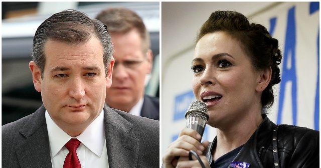 Ted Cruz Accepts Alyssa Milano's Challenge to Debate Gun Violence