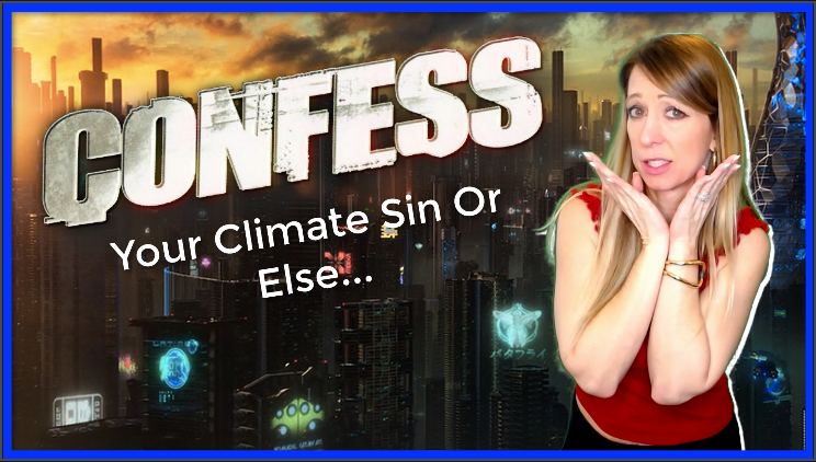 Confess Your 'Climate Sin,' Dystopian Parasitic Homes, and REAL Slavery For Americans | Lisa Haven News