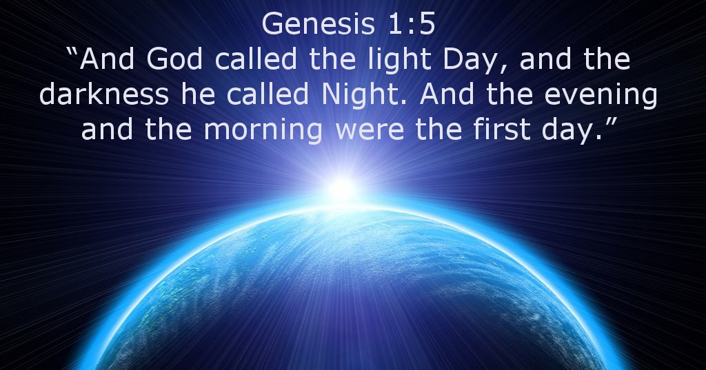 God Inspires: Genesis 1:5 - What's in a Name