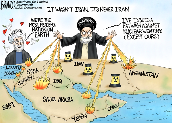 It's Never Iran – Comically Incorrect – Evans News Report