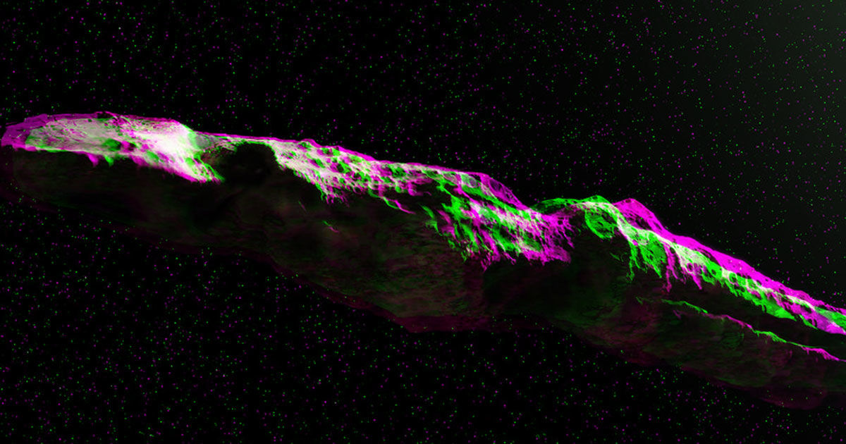 Here's a Pic of That Mysterious Object From Beyond Solar System