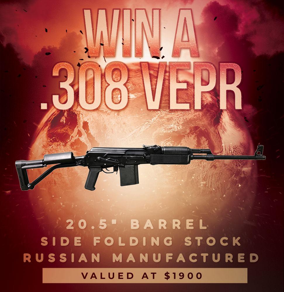 Contest - Win A .308 Russian Molot Vepr Rifle