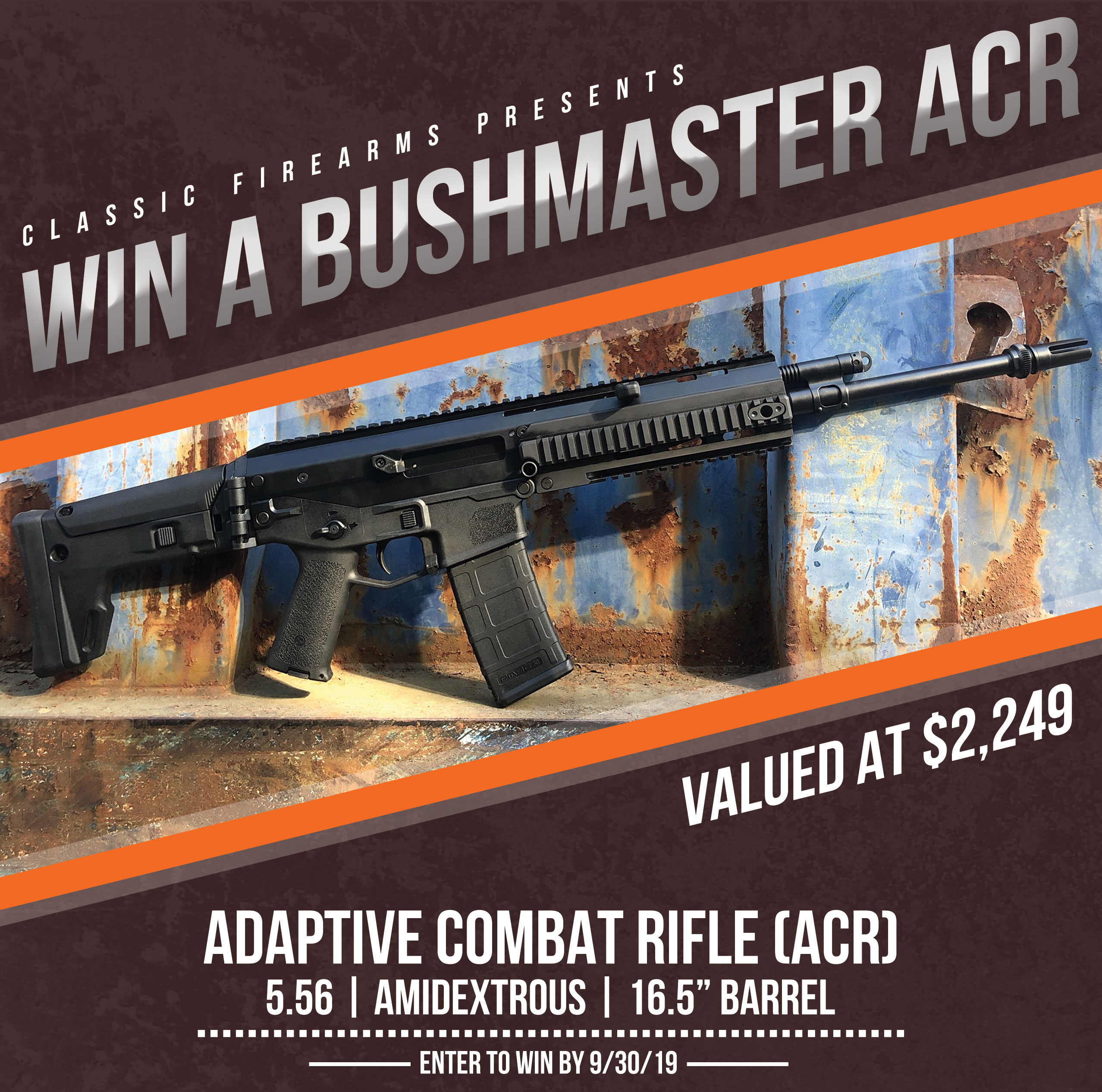Contest - Win A Bushmaster ACR Rifle