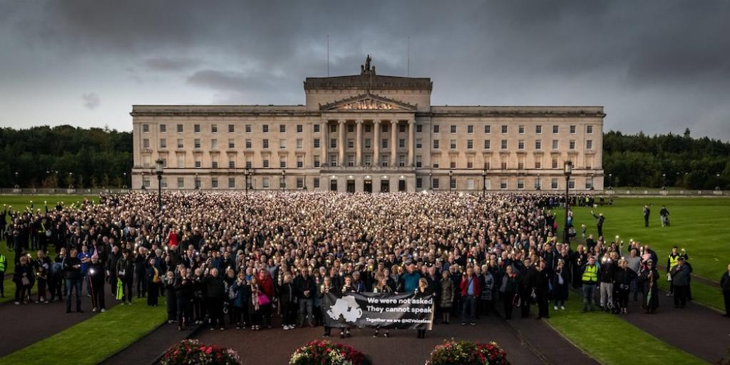 Over 20,000 pro-lifers march to protest UK imposing abortion on Northern Ireland | News | LifeSite