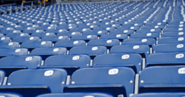 Still Empty Seats for Some NFL Games in Week Three