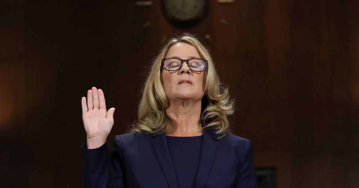 Christine Blasey Ford's Friend Doesn't Believe Her On Kavanaugh Accusation, Says New Book | Daily Wire
