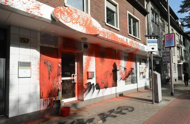 Staatsschutz ermittelt: Geschäft von AfD-Politiker mit Farbe beschmiert - Münster - Westfälische Nachrichten