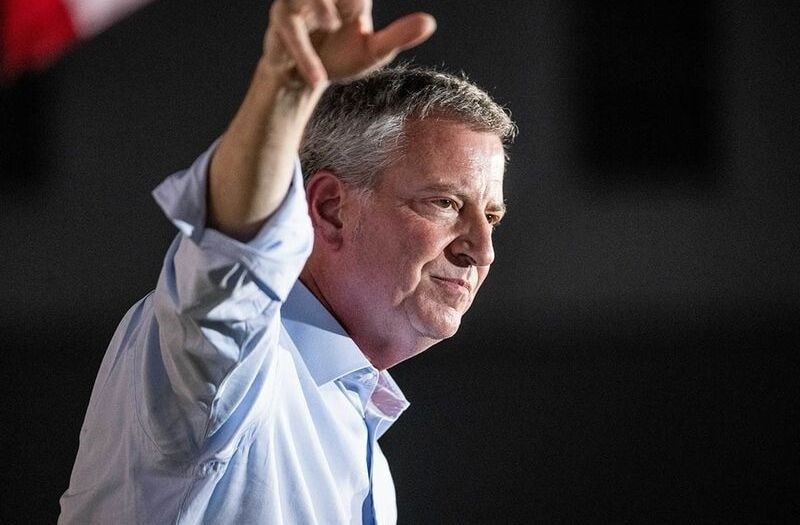 The Party's Over: New Yorkers Brace For de Blasio's Return - Liberty Nation