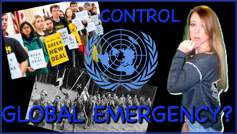 Global Emergency Declared: Shut-up or Be Silenced! UN Invasion, Youth Mobilized & America Conforms | Lisa Haven News