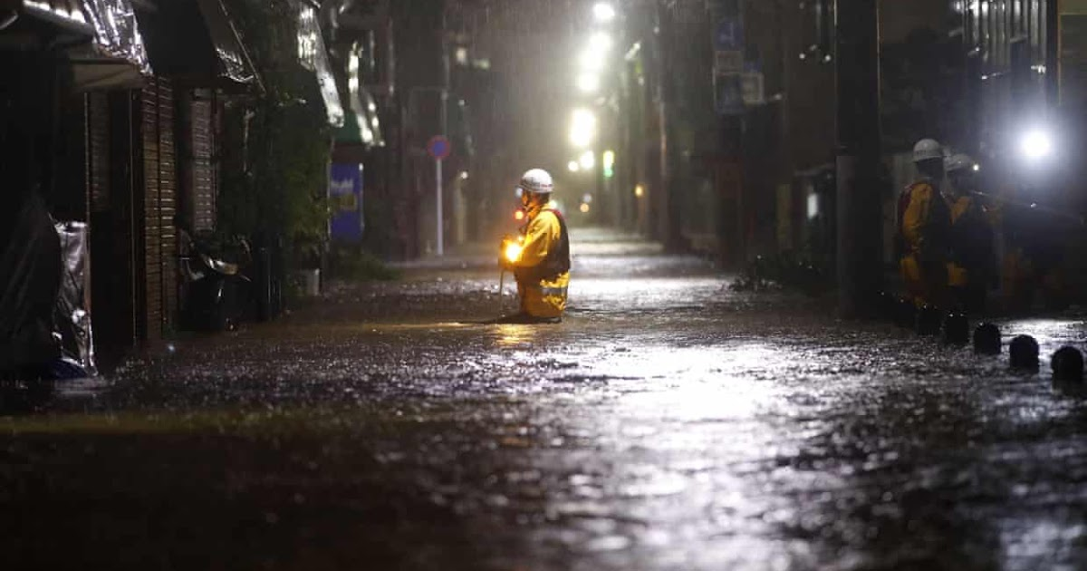 ATN NEWS: Typhoon Hagibis: death toll rises in Japan as 'worst storm in 60 years' roars through
