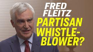 Trump Whistleblower Complaint Damaging WH-Intel Community Relationship—Fred Fleitz