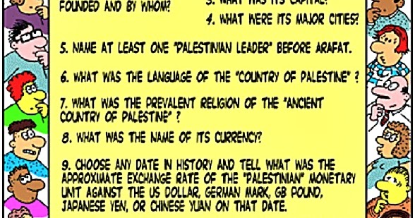 SlantRight 2.0: The Palestinian Myth