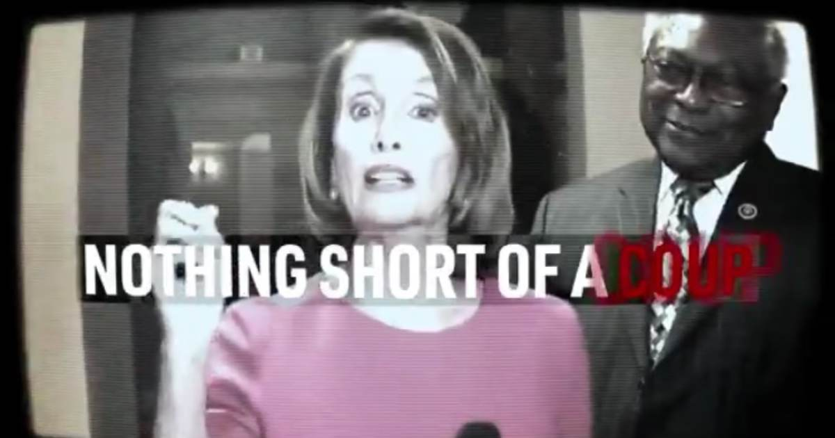 """Trump Releases New Hard-Hitting Campaign Ad Accusing Dems of a Coup: """"It's Nothing Short of a Coup and it Must be Stopped"""" (VIDEO)"""