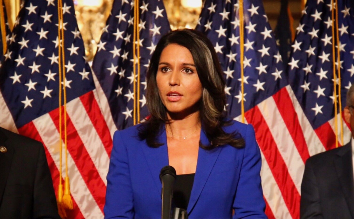 Tulsi Gabbard Blasts NYTimes, Calling Their Profile on Her a 'Smear Piece'