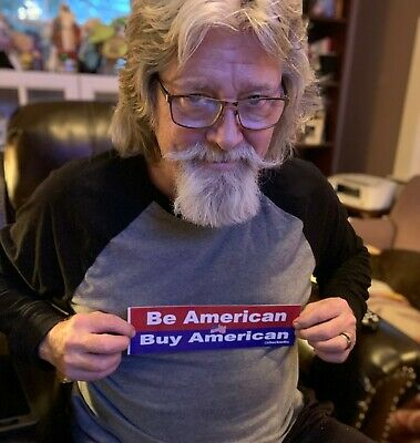 Be American Buy American Bumper Sticker by Chuck Nellis @chucknellis  | eBay