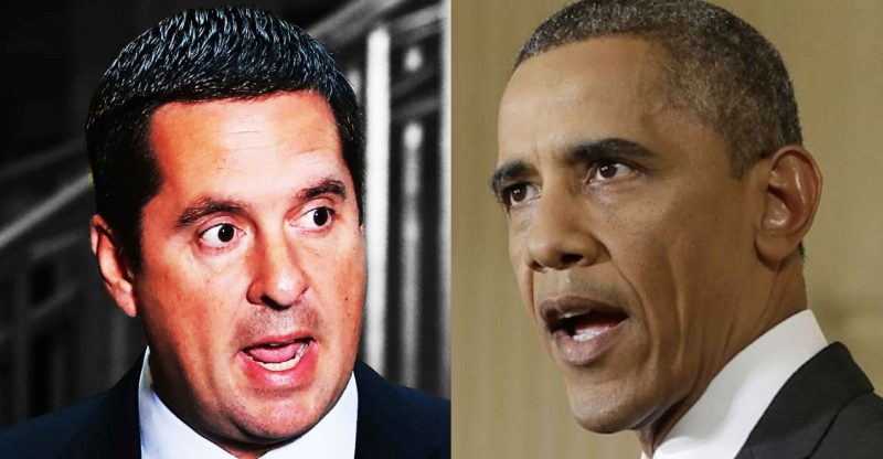 Devin Nunes Takes Aim At Barack Obama for His Role in Russia Hoax - The Washington Standard
