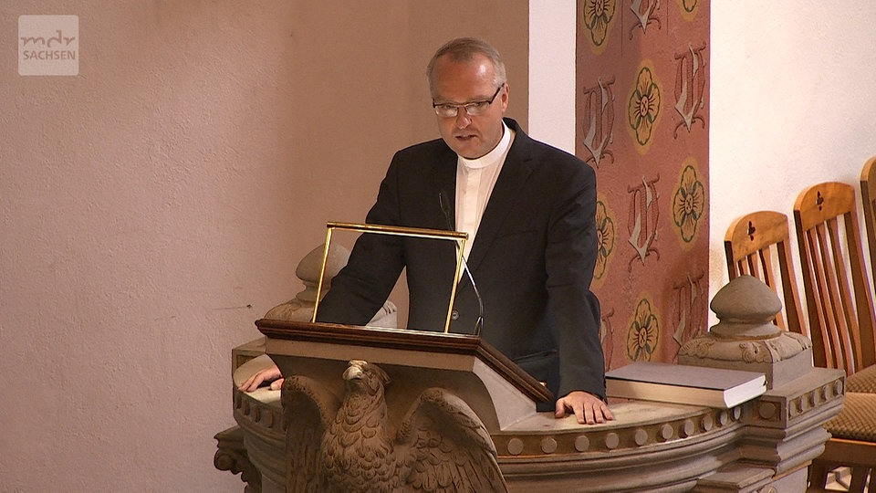 Rede von Ex-Landesbischof Carsten Rentzing | MDR.DE