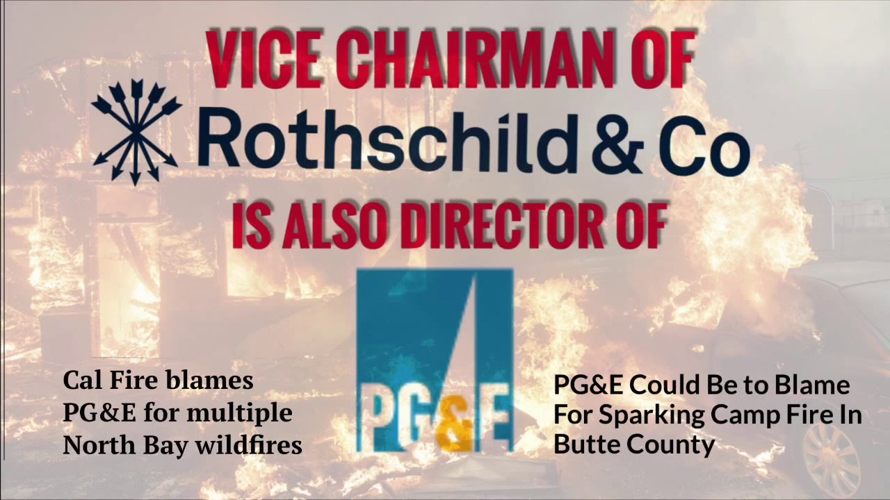 "California: Activist Calls Out ""Rothschild-Bankster-Controlled"" PG&E For Using ""Delphi Method"" Against Sonoma County - The Washington Standard"