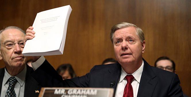 BREAKING: Graham Announces Date for DOJ Inspector General Testimony on FISA Abuse, Russia Probe