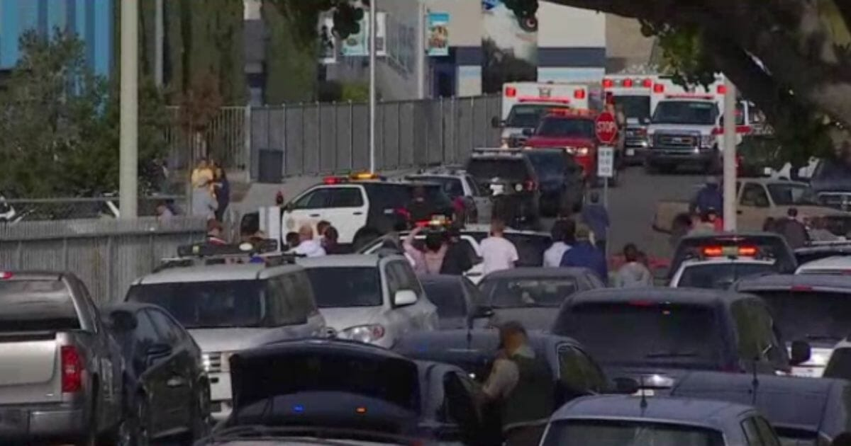 Breaking: School Shooting in Southern California, Suspect in 'Black Clothing' Reported