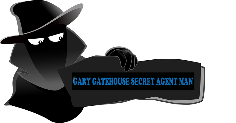 GARY GATEHOUSE THE SECRET AGENT MAN DAILY POLITICAL COMMENTARY RADIO/ VIDEO SHOW