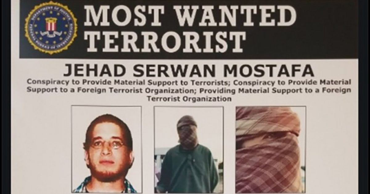 5 Million Dollar Reward Set For San Diego Man Who Turned Into Islamic Terrorist