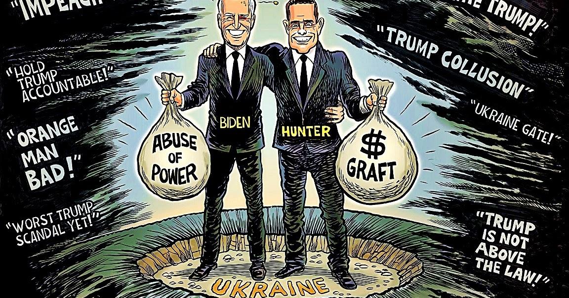 SlantRight 2.0: Impeachment Smoke & Biden-Ukraine Corruption