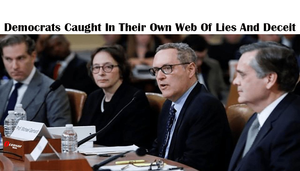 Democrats Caught In Their Own Web Of Lies And Deceit - 0Censor
