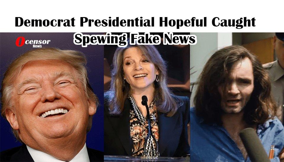 Democrat Presidential Hopeful Caught Spewing Fake News - 0Censor