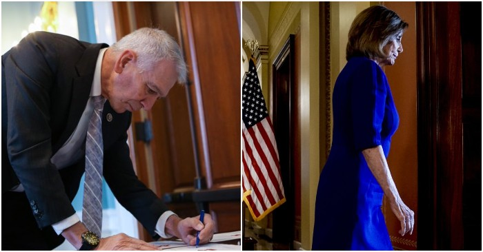 Rep. Ralph Abraham submits resolution to expel Nancy Pelosi from House for abuse of office | TheBL.com