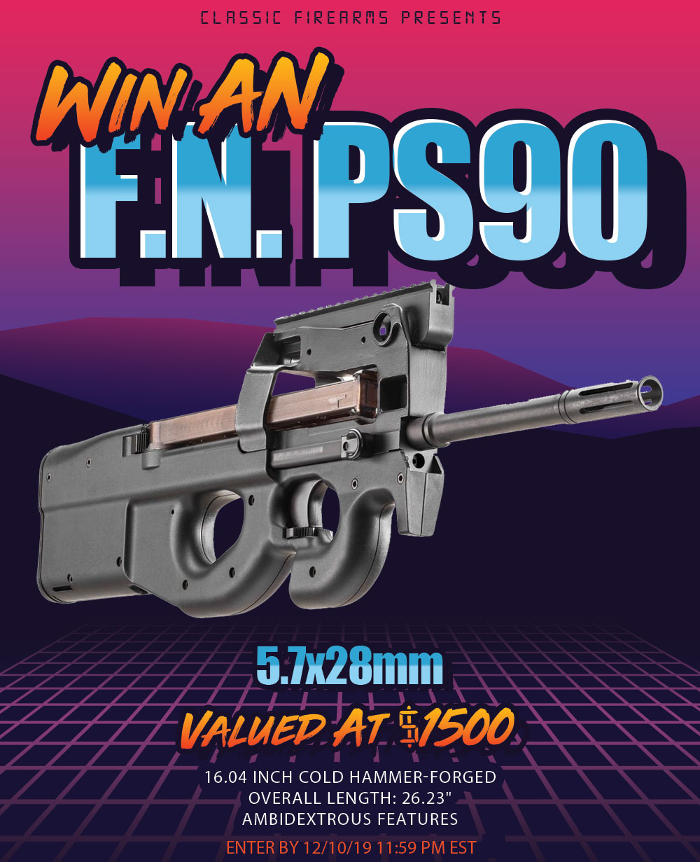 Contest - Win An FN PS90 Rifle