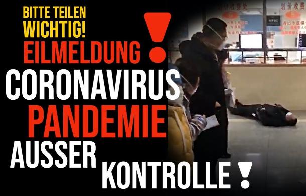 EILMELDUNG! Coronavirus ausser Kontrolle! Todes-Virus hat Österreich erreicht... Was uns die Medien verschweigen (Video) - Alpenschau.com