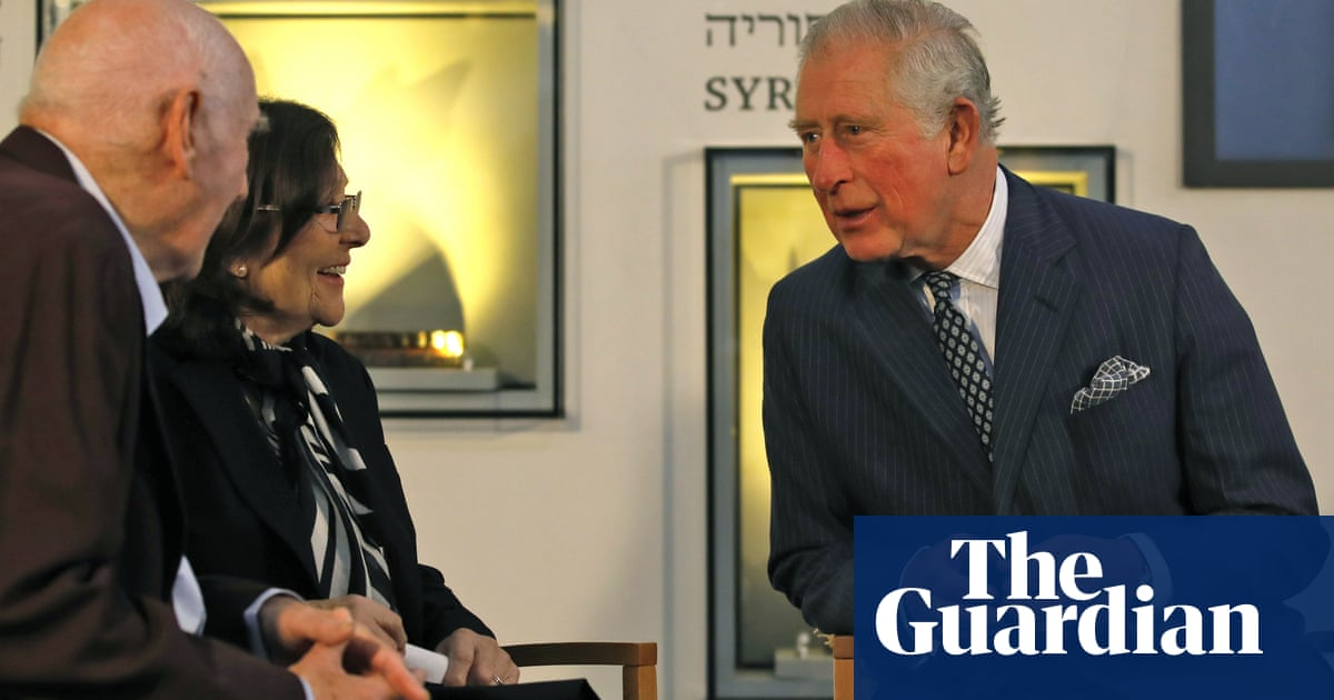 Prince Charles: lessons of Holocaust still 'searingly relevant' | World news | The Guardian