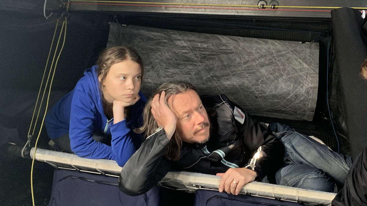 """Greta Thunbergs Vater über ihr Leben: """"Absoluter Albtraum"""" vor Fridays for Future   Politik"""