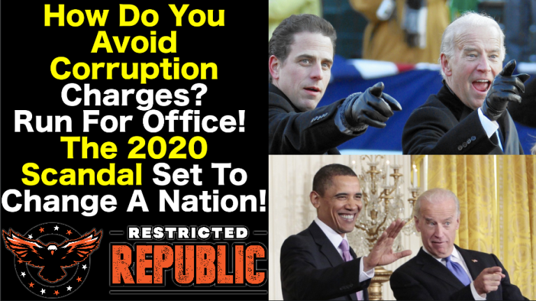 How Do You Avoid Corruption Charges?…Run For Office: The 2020 Scandal Set To Change A Nation! | Alternative
