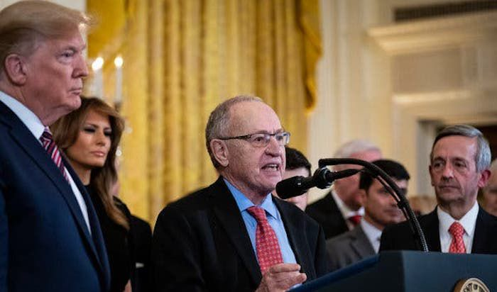 Dershowitz: I Have 'Secret' Epstein Emails That Will Put 'Prominent People in Handcuffs' - News Punch