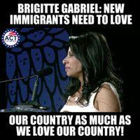 I'm not anti-Immigration, I'm... - Brigitte Gabriel | Facebook