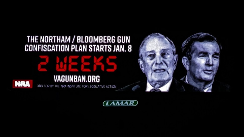 VA Citizens Revive American Revolution As Second Amendment Billboards Crop Up - Conservative Daily Post