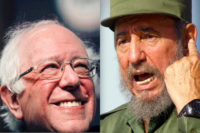 Comrade Bernie Sanders Heaps Praise On Commie Dictator Fidel Castro – Def-Con News