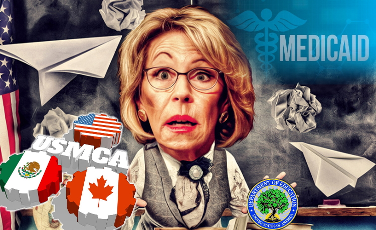 Trump Admin's USMCA, Ed-Flex Waivers, Data Mining & Medicaid Scheme Comes At A Hefty Price - & It's Not Just Money » Sons of Liberty Media