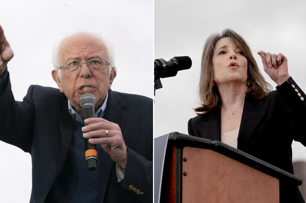 Williamson Backs Bernie - Calls It Political Revolution But Revolutions Are Not Always In The Best Interest Of Citizens - The Washington Standard