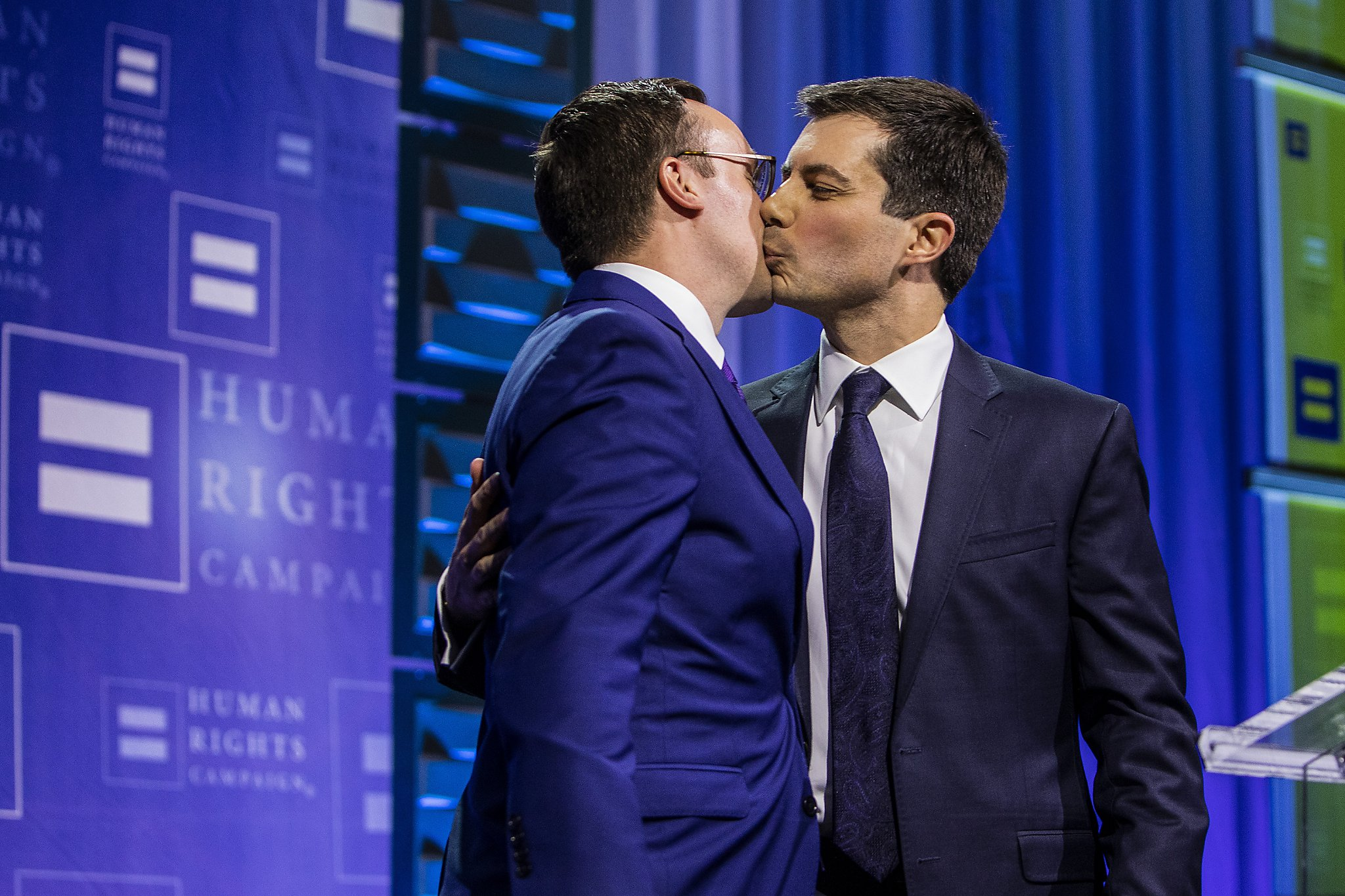 Pete Buttigieg's campaign asset: 'Do I have a great husband or what?' - SFChronicle.com