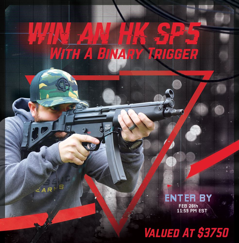 Contest - Win A Heckler and Koch SP5 Pistol w/ Binary Trigger