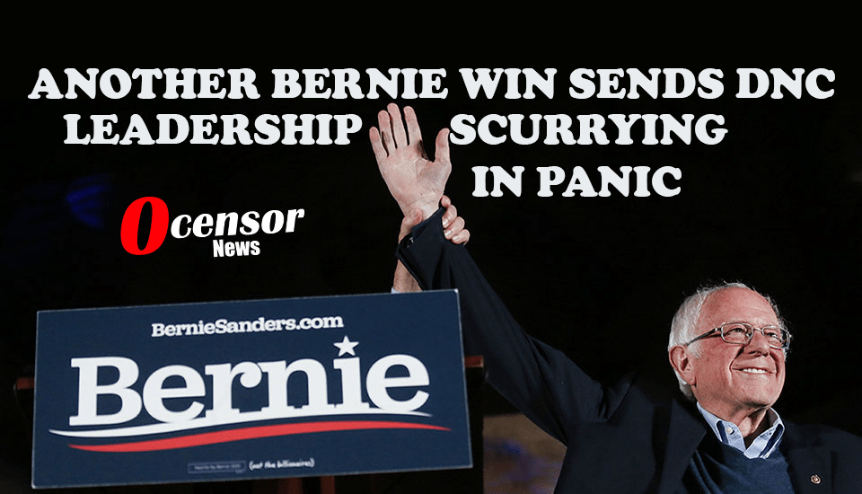 Another Bernie Win Sends DNC Leadership Scurrying In Panic - 0Censor