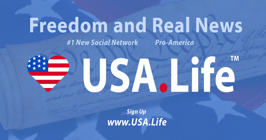 USA.Life #1 New Social Network; Conservatives 'Delete Facebook and Twitter' to 'Speak Freely' - AmericaFirst.win