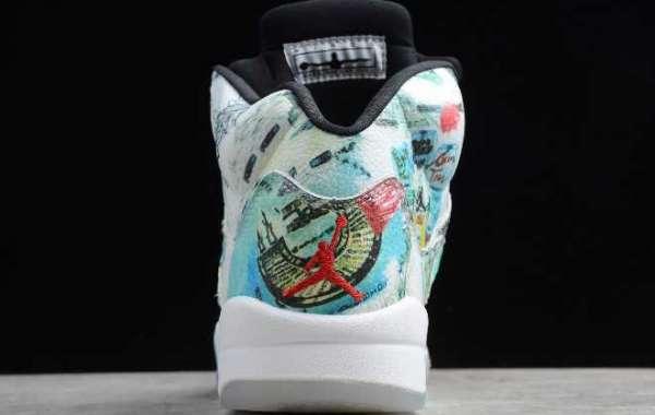 "2020 Air Jordan 5 Retro ""Wings"" AV2405-900 Men Sneakers"