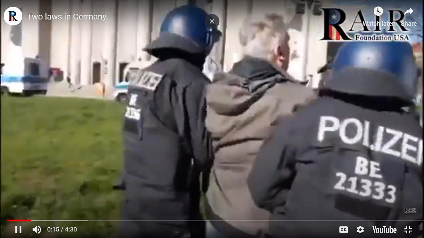 Double Standard: German Police Aggressively Enforce Coronavirus Quarantine Rules on All but Muslims (Watch) – RAIR