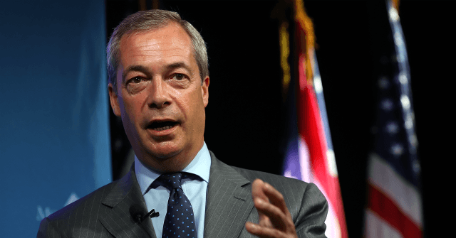 Farage: Trump Stood up to China, The West's Consumers Should Follow