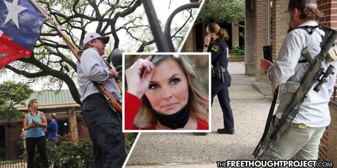 Texas: Armed Supporters Show Up To Guard Dallas Salon Defying COVID-10 Stay-At-Home Order - The Washington Standard